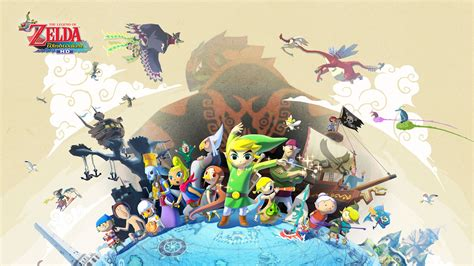Official Site The Legend Of Zelda The Wind Waker Hd For