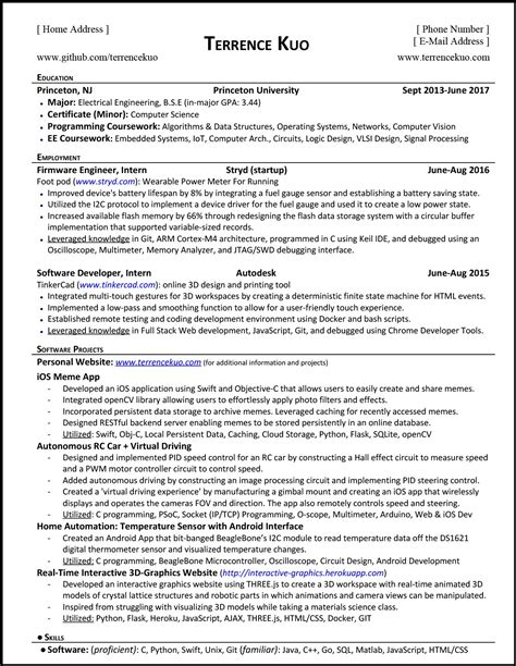 Resume What Is by How To Write A Killer Software Engineering R 233 Sum 233
