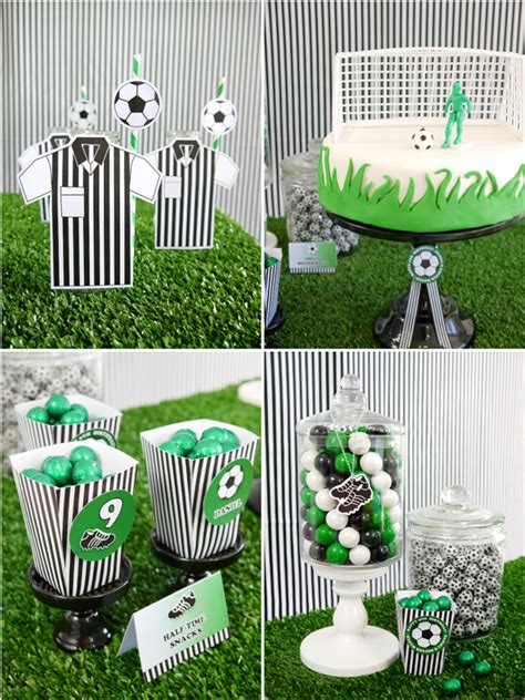 Soccer Football  Ee  Birthday Ee    Ee  Party Ee   Printables Supplies