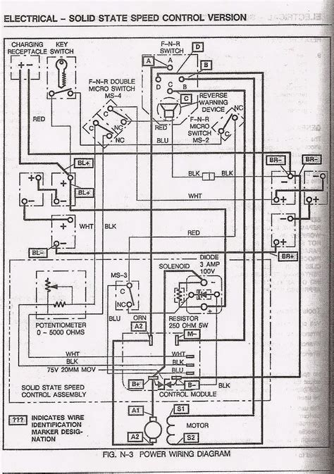 Basic Ezgo Electric Golf Cart Wiring Manuals