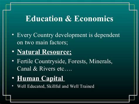 economics  education