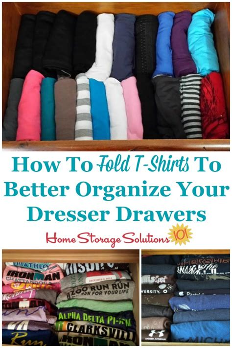 shirts fold drawers storage shirt solutions trick way drawer folding organizing simple them organize better dresser organized