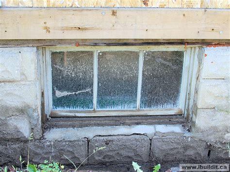 Replacing The Basement Windows  My Old House Ibuilditca