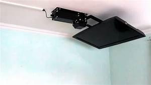 Tv Deckenhalterung Schwenkbar : tv deckenhalter flasy fl elektrisch schwenkbar mit funkfernbedienung youtube ~ Orissabook.com Haus und Dekorationen