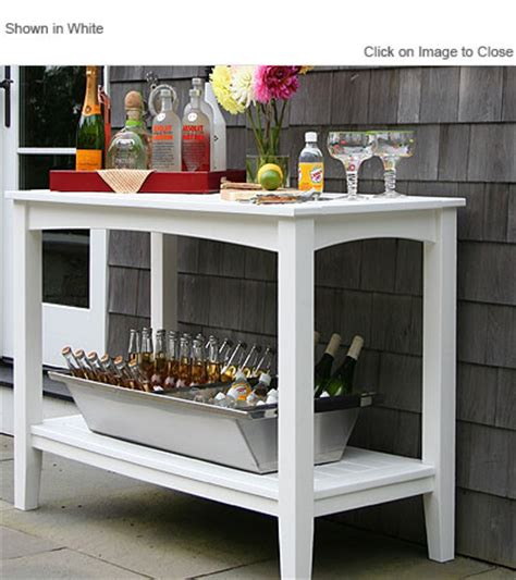 how to build a buffet table envirowood outdoor poly furniture seaside casual sea095