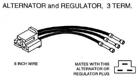 Bosch Voltage Regulator Alternator Repair Connector