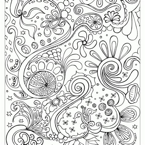 printable abstract coloring pages  adult image