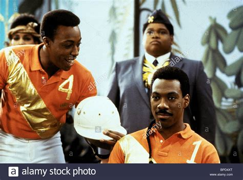 eddie murphy going to america arsenio hall eddie murphy coming to america 1988 stock