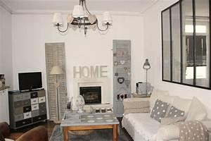 Deco Bois Et Blanc : d co maison gris et blanc ~ Melissatoandfro.com Idées de Décoration