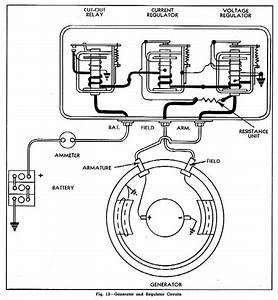 Generator And Regulator Circuit Diagram For 1945