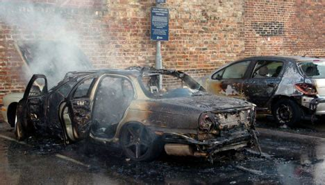 estate agents  jaguar bursts  flames