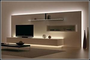 Wohnzimmer Beleuchtung Ideen : wohnzimmerwand ideen ~ Yasmunasinghe.com Haus und Dekorationen
