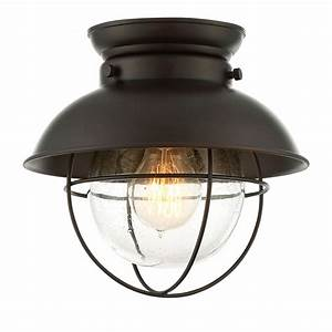 251 First River Station Rubbed Bronze One Light Industrial