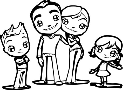 family coloring pages coloringsuitecom