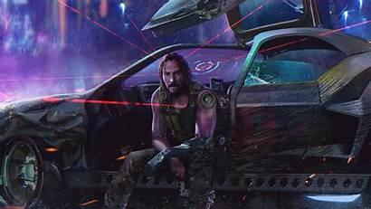 Cyberpunk 2077 Keanu Reeves Desktop 4k