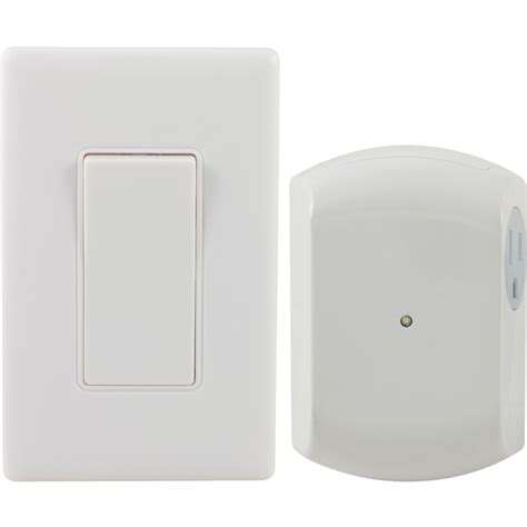 ge 18279 wall switch light control remote with 1 outlet