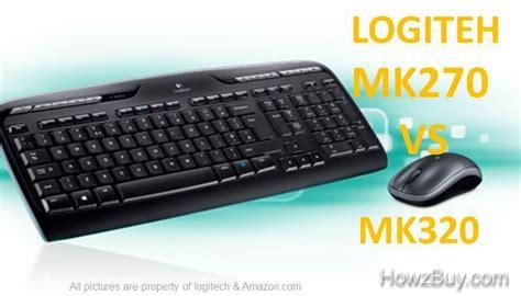 logitech mk270 vs mk320 wireless desktop keyboard and