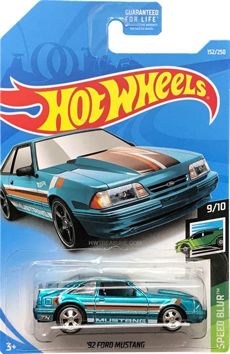 ford mustang hot wheels  super treasure hunt