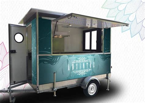 remorque cuisine papillon marque mazaki motor produits food truck remorque