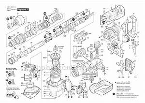 Bosch 11264evs Parts List And Diagram