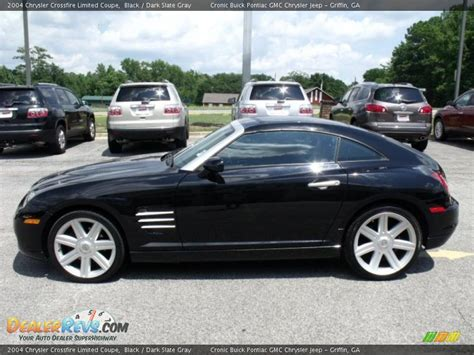 Black Chrysler Crossfire by 2004 Chrysler Crossfire Limited Coupe Black Slate