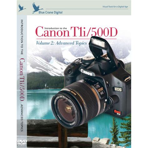 Blue Crane Digital Dvd Introduction To The Canon Eos Bc125 B&h