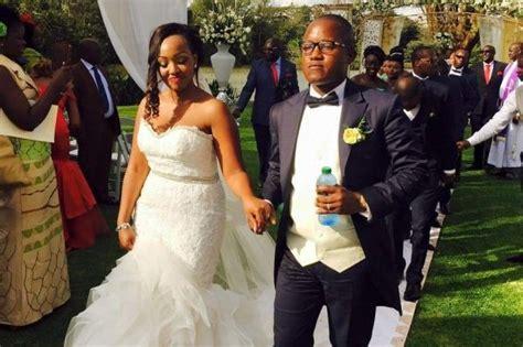 sarah hassan dead flashy jared otieno finally has his expensive wedding