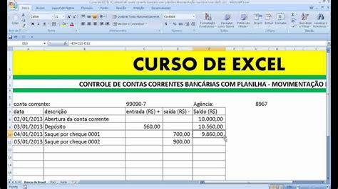 extrato bancario controle movimentacao conta corrente
