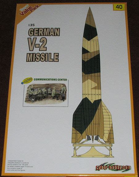 Cyber-hobby 1/35 German V-2 Missile, previewed by Scott ...