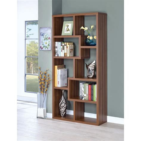 Sturdy Bookcase sturdy wooden bookcase with shelves brown