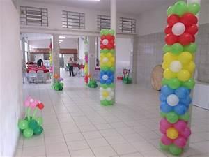 Colunas de balões Aquarela Kids Festa