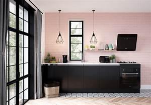 Cuisine Rose Poudré : mur color nos inspirations pour un int rieur haut en couleur elle d coration ~ Melissatoandfro.com Idées de Décoration