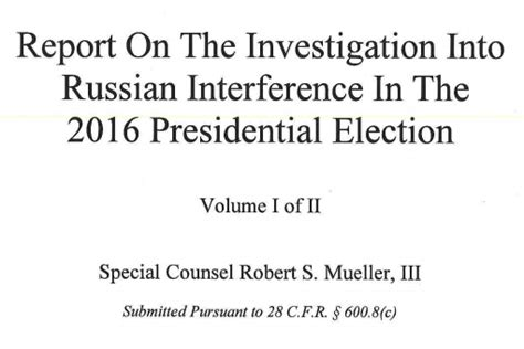 mueller report searchable