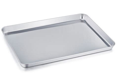 baking cookie tray sheet steel pan stainless sheets rated chef rectangle amazon warp clean toxic non