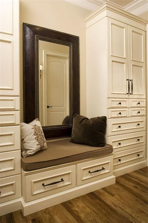 bench detail atlanta closet seat interior designs