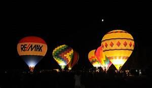Hot Air Balloons at Night   Flickr - Photo Sharing!