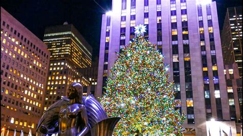 when does christmas start in new york holidays in new york city rockefeller center tree o holy
