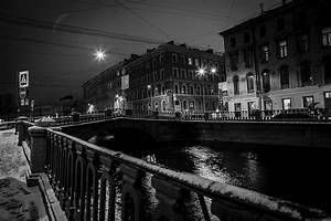 St Petersburg papel de parede preto e branco Largura