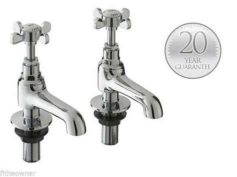 Traditional Basin Sink Bathroom Chrome Taps Westminster