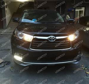 2016 Toyota Highlander Led Daytime Running Lights Toyota Highlander Direct Fit Led Daytime Running Lights