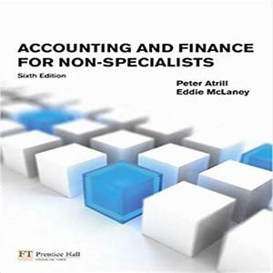 Solutions Manual For Accounting And Finance For Non