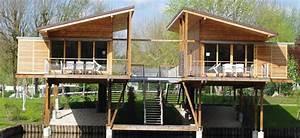 Chalet En Bois Habitable Livré Monté : chalet bois kit habitable l 39 habis ~ Dailycaller-alerts.com Idées de Décoration