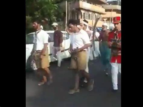 Kerala: RSS members allegedly depicted by individuals role ...