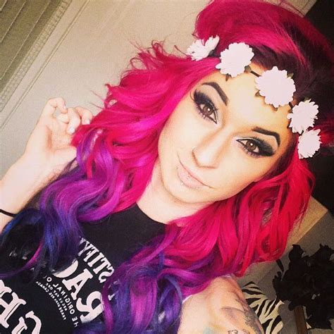 Pink Purple Blue Hair Hair Styles Scene Hair