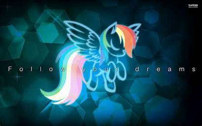 Pony Wallpapers Dash Rainbow Magic Friendship Desktop