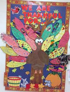 thanksgiving bulletin board kids take feather templates With turkey template for bulletin board