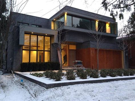 build custom home this is a custom built modern architecture home in toronto