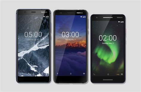 hmd global launches nokia 5 1 3 1 and 2 1 smartphones techno guide