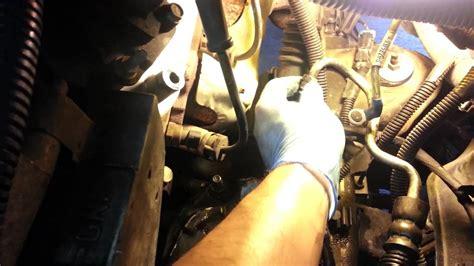 gmc sierra power steering pump replacement