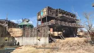Fallout 4 Settlement - Sunshine Tidings co-op - YouTube